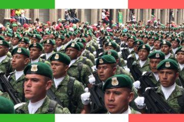Mexican Military Parade 2018/Desfile militar México 2018/ Sin comentarios de TV