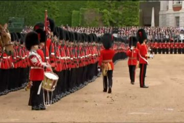 The British Grenadiers - Trooping The Colour
