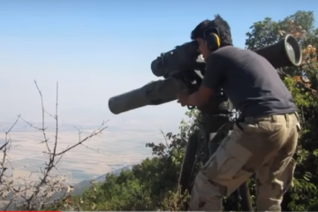ATGM Tanks in Syria