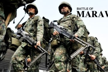 Battle of Marawi in the Philippines