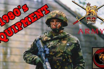 British Army Infantry equipment