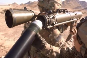 Carl Gustaf in Action - Powerful Anti-Tank Weapon