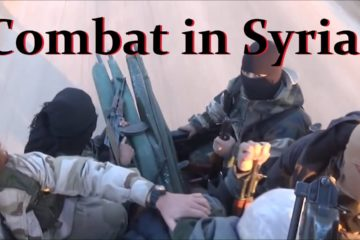 Here is some intense combat footage from the War in Syria