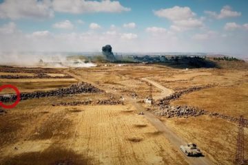 Firestorm at Golan Heights - Syria