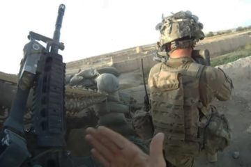Helmet Cam Footage - U.S Soldiers receive Heavy Effective Fire