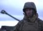 U.S. Marines with Hotel Battery, 3rd Battalion, 14th Marine Regiment, 4th Marine Division make it rain in Latvia