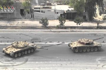 Syrian-Tanks