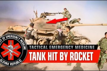 Tank Hit by RPG, Wounded Crew. Coming in Hot! – War in Iraq
