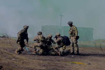 Paratroopers from 2nd Battalion, 503rd Infantry Regiment participated in a live fire event as part of exercise