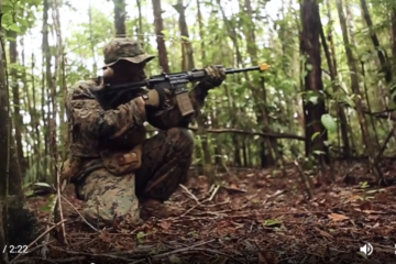Jungle warfare training