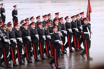 Sandhurst Commissioning Parade