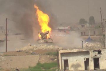 Here is footage of a Soviet Anti-Tank Missile VS. M1 Abrams (Ramadi, Iraq)