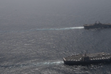 US Carrier Group Arabian Sea