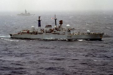 Mega Disasters - Sinking the Royal Navy HMS Coventry (D118) Falklands War