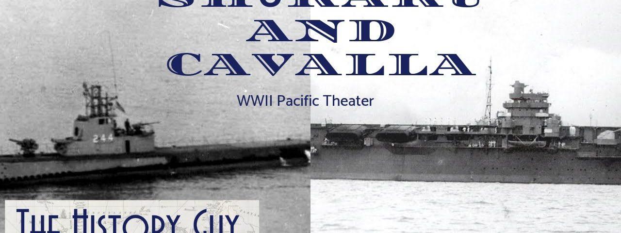 Imperial Japanese Navy, Shōkaku, encountered a US submarine, Cavalla,