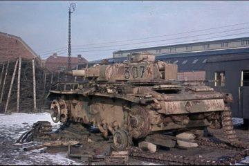 Panzer Unit Still Serving After German Defeat - Denmark 1945