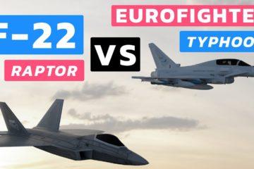 F-22 Raptor vs Eurofighter Typhoon