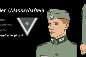 German Army Ranks 1939 - 1945