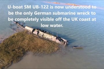 German submarine U-122 wreck