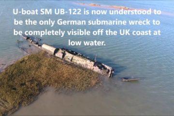 German submarine U-122 wreck