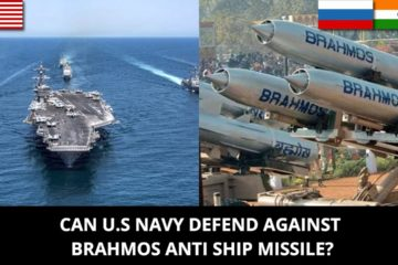 In this video Defense Updates, analyzes if U.S Navy can defend against Brahmos missile