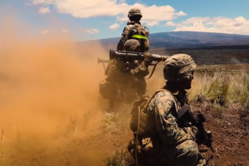 Us Marines in Exercise