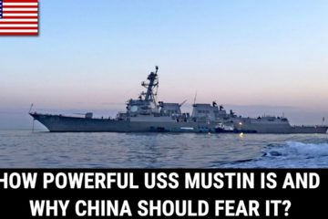 US Navy destroyer USS Mustin