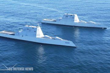 USS Zumwalt's