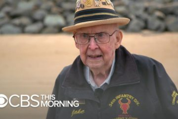 Veteran returns to Omaha Beach for first time in 75 years