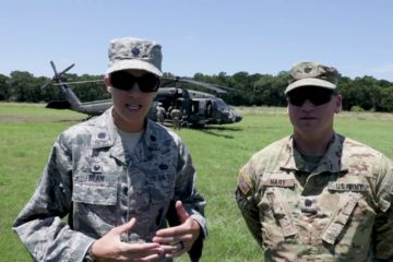 147th Security Forces Squadron take part in Blackhawk Training