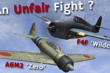 A6M2 'Zero' vs F4F 'Wildcat'