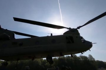 CH-47 Chinook Helicopter Sling Load Operations