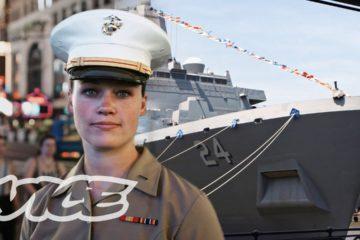 24 Hours with Female Marines in NYC : Fleet Week