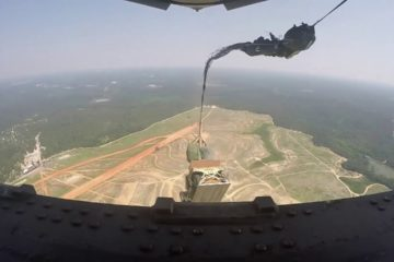Humvee Aerial Delivery from a C-17 Globemaster