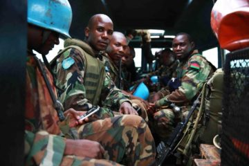 Peacekeepers from Malawi