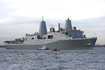 The US Navy USS New York