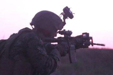 U.S. Marines : Mortars and Night Range - Sea Breeze 2019