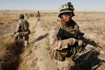 U.S. Marines on Patrol – Atull in Sangin, Afghanistan 2011