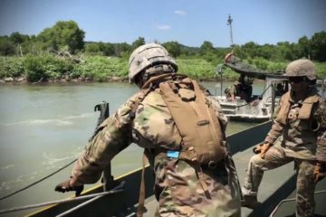 US Army 6th Engineer Support Battalion River Assault - July 20th, 2019