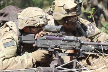 US Army - Combat Team Combined Arms Live Fire
