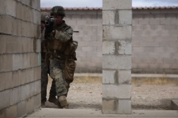 U S Marines & Spanish Army Participate in Joint Exercise