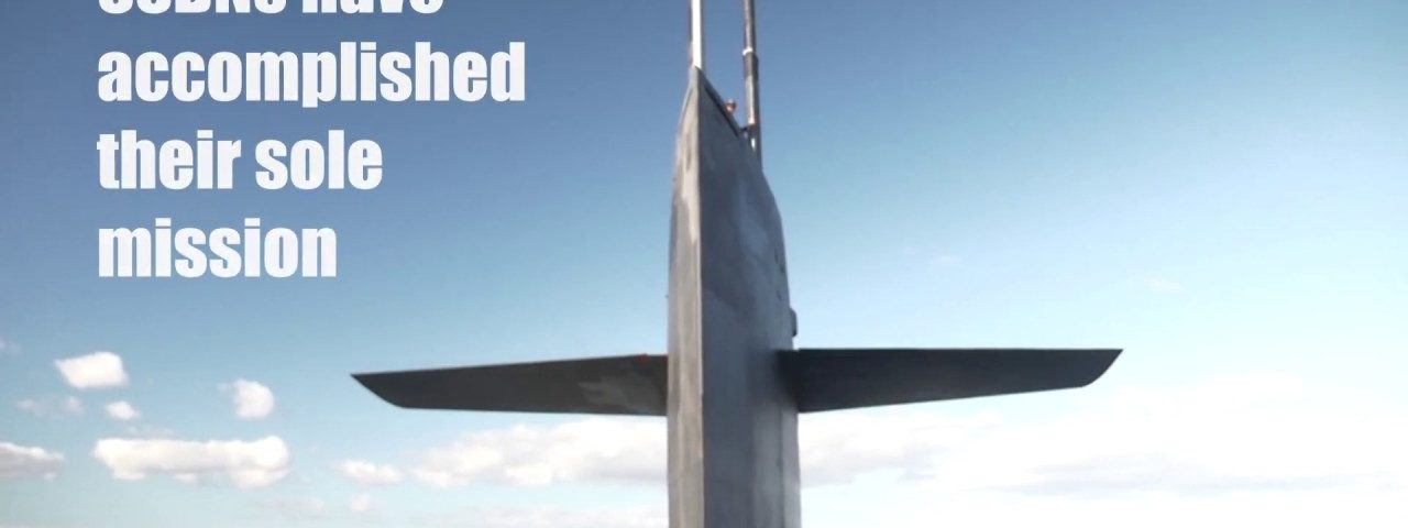 Compilation video featuring statistics and capabilities of the Ohio-class ballistic-missile submarines (SSBN)