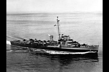 USS Buckley vs U-66