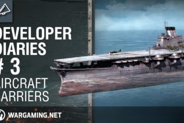 The developer diaries series. This video is dedicated to aircaft carriers, the most unique type of Vessels