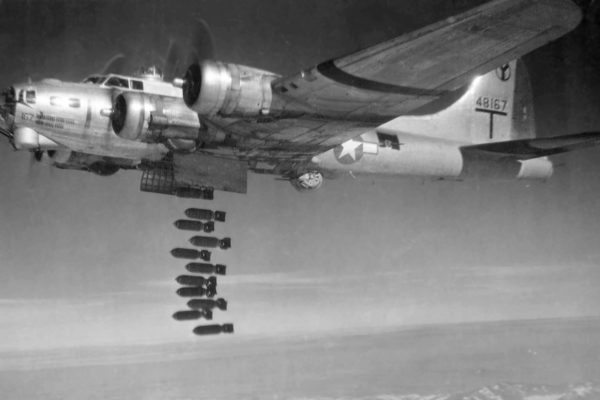 Defense from a US Bomber Attack; Bombing on Berlin
