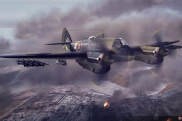 Daring Solo Beaufighter Raid – Paris 1942