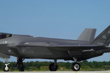 Operations Rapid Forge Culminates with F-35s and F-15s Refueling in Estonia