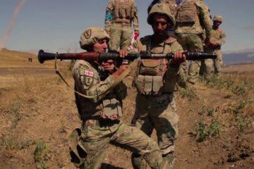 Georgian Defense Forces Conduct RPG 7 Training during Agile Spirit 2019