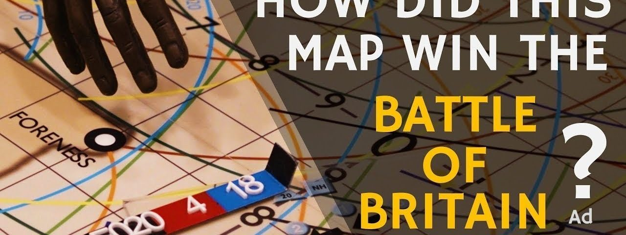 How A Map Won The Battle of Britain - Air Operations 1940