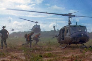 Huey Helicopter in Vietnam